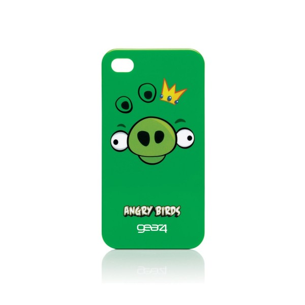 Pouzdro pro iPhone 4 Angry Birds Green